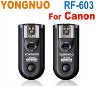 Wholesale yongnuo flash for sale - YONGNUO RF Wireless remote Flash Trigger for Canon D D D D D