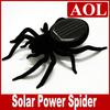 Black Solar Spider Science & Nature Educational Learning Toys Solar Powered Robot Christmas gift