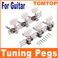 Wholesale Classical Tuners - 2pcs set Classical Guitar Tuning Pegs Keys Machine Heads Tuner Tuners I50 free shipping