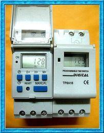 Wholesale Digital Programmable Timer Relay 16a - 10pcs lot AC POWER 110V   220V 240V  380V 16A PROGRAMMABLE 24 HOUR 7 DAY TIMER TIME RELAY SWITCH