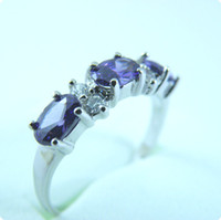 Free Shipping GORGEOUS 2. 4CT TANZANITE 14KT WHITE GOLD GEMST...