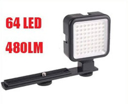 Wholesale Led Lights Video Yongnuo - YONGNUO SYD-0808 64 LED Video Lights Photo flash Light for DSLR Camera Film 480LM