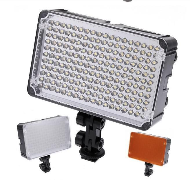 Aputure Amaran AL-198A LED Video Lights Camera flash photo lighting Lámpara 5600K para Canon Nikon