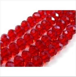 Wholesale Wholesale Swarovski Crystals Red - 4*6mm,6*8mm,8*10mm Red SWAROVSKI Crystal Faceted Loose Bead