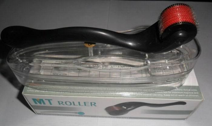 Rullo derma medico degli aghi dell'acciaio inossidabile di vendita al dettaglio MT 540, rimozione della cicatrice dell'ago micro, trasporto libero di Dermaroller