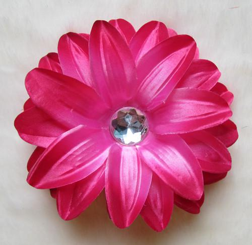 """13 Colors 4"""" Tropical 4 layerLily Flower Children's Hair Accessories Girls Head Flower Clip"""