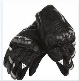 Wholesale Carbon Fiber Vehicle - Wholesale-Free Shipping 100% Original dain ese Blaster leather carbon fiber motorcycle gloves racing gloves sport utility vehicle gloves