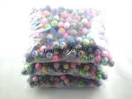 Wholesale Wholesale Polymer Beads - Polymer clay beads free shipping, mixed color 10mm clay jewelry fittings wholesale, clay loose beads