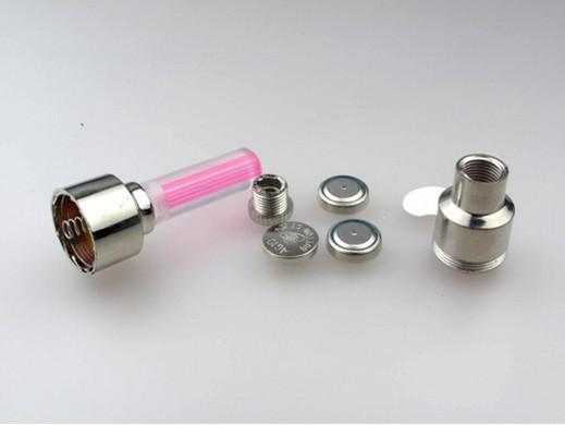 livraison gratuite, / nouveauté LED lumière de bouchon de valve de roue de pneu de flash pour voiture roue de vélo de vélo