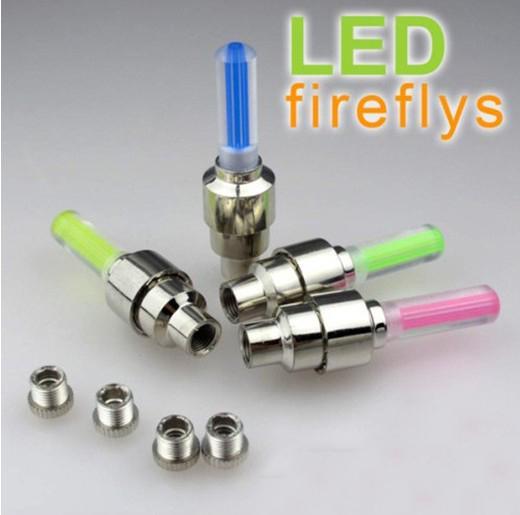Luz de Neon LED Neon Light de rueda de neumático de bicicleta Tapas de válvulas es, /