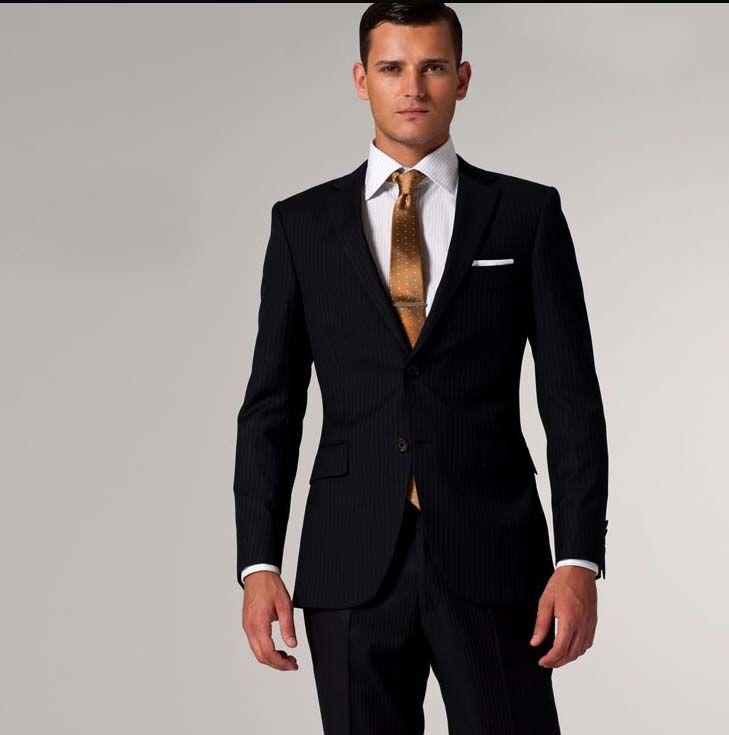 2018 Wholesale Fashion High Quality Wool Suit Men Business Suit ...