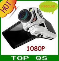 "Wholesale Hdmi Reverse Camera - 2.5"" HD 1080P HDMI Car DVR Camera 180 Reverse Night vision F900LHD Free shipping!!"