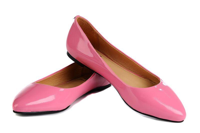 Brown Dress Flats Shoes
