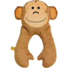 Go Travel Monkey Baby Neck Pillow 2698   BROWN - STD HB0000019AFM