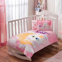 Taç Licensed Kitty Baby Duvet Cover Set eakstac60126103