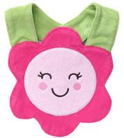 Wholesale Toddler Animal Towels - Retial babys bibs Waterproof Feeding toddler Animal model Towel bibs