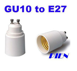 Wholesale B22 E27 Converter - Adapter Converter Led light bulb lamp adapter E27~GU10 converter B22-E27 50pcs