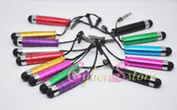 Wholesale 100pcs Mini Metal Stylus Touch Screen Pen For iPhone S GS G iPod iPad cellphone
