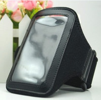 Wholesale Sport Armband Iphone4 - Sport Sports Neoprene Armband Arm Band Cover Pouch Case For iPhone4 iphone 4S 4G 3GS 3G