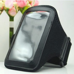 Wholesale Iphone 3g Sport Case - Sport Sports Neoprene Armband Arm Band Cover Pouch Case For iPhone4 iphone 4S 4G 3GS 3G
