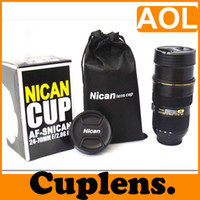 Wholesale Money Cup - Multi Purpose NICAN 24-70mm F 2.8G cuplens Lens temperature cup-ashtray-money box-pen holder,1PCS