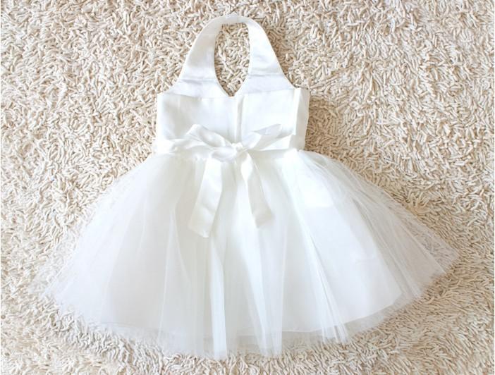 Flower Girl Wedding Dress Princess Dress Kids&39 Dress White Colors ...