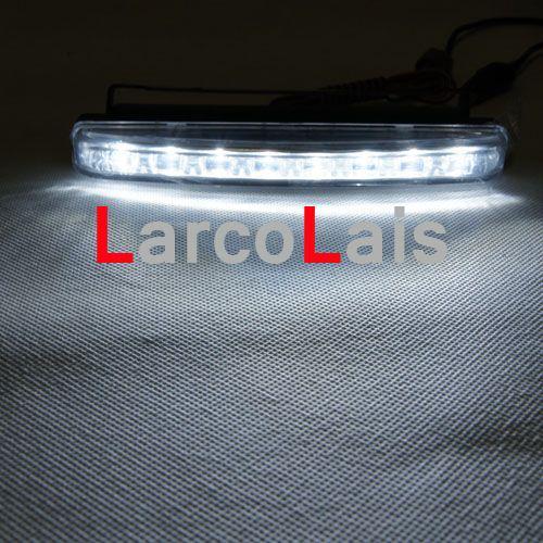 2x8 LED 8LED высокой мощности DRL белый автомобиль авто фары дневного света противотуманные фары