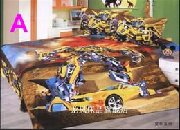 Wholesale Children Quilt Covers - Brand New beautiful Cartoon Kids 4pcs Set Bedding Sheet Quilt cover Pillowcase children bedding sets gift 4 model