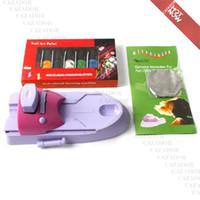 Wholesale Nail Printer Stamper - Nail Art Colors Drawing Polish Kit Stamper DIY Printer Nail Stamping Printing Machine M23 Free Shipping