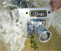 Wholesale Waterproof Slr Camera Case Bag - DSLR SLR Camera Waterproof Case bag soft case bags