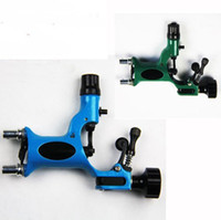Wholesale Dragonfly Tops - Top 2 Dragonfly Rotary Tattoo Motor Machine Gun(Green+Blue) Kits Supply Shader & Liner Sale