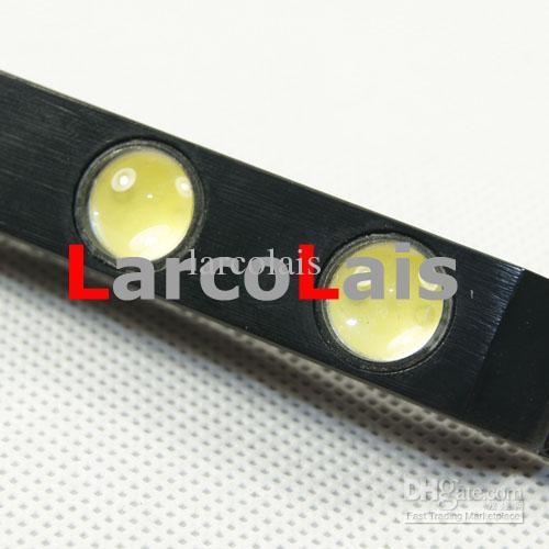 NEUE 2X8 LED 16 Watt Wasserdicht Weiß Eagle Eye Auto Tagfahrlicht DRL Nebelscheinwerfer Aluminiumlegierung