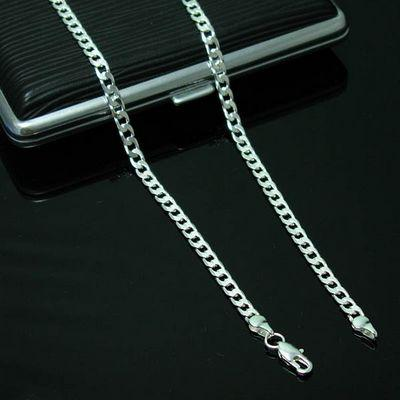 Men's Jewelry Figaro Chains 925 Silver Necklace 20inch 6mm , Fashion Jewelry Chains Chokers Necklaces N047