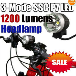 Wholesale Bicycle P7 Led Light - lastest new fashion sell SSC-P7 1200Lm LED Bicycle bike Head Light Lamp Torch