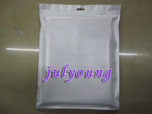 Wholesale Zipper Plastic Retail bag Package packing for Apple Ipad Ipad2 table skin case
