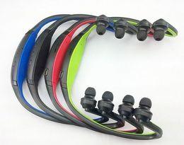Спорт Беспроводная bluetooth-гарнитура наушники Наушники черный красный синий зеленый для мобильного телефона от