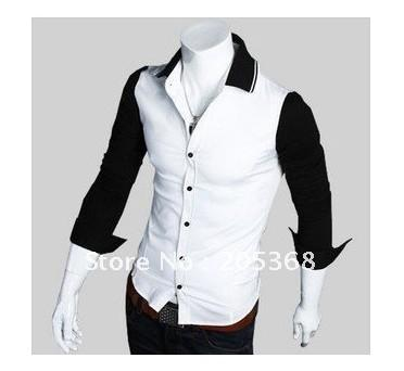 2017 New Men's Shirts.Bump Color Shirts,Leisure Shirts,Casual Slim ...