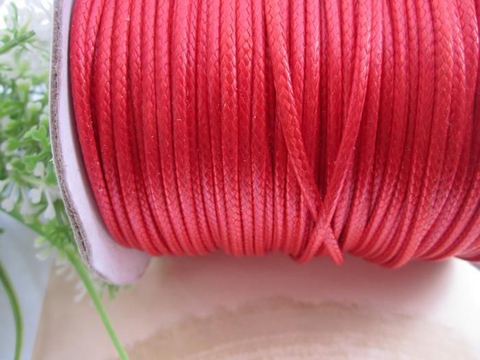 2.0mm 17-19 Zoll justierbare sortierte Farbe (15 Farbe) Korea-Wachsschlangenschnur-Halskettenschnur 100pcs / lot