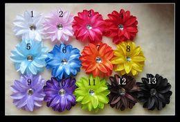 "$enCountryForm.capitalKeyWord Canada - 13 Colors 4"" Tropical 4 layerLily Flower Children's Hair Accessories Girls Head Flower Clip"