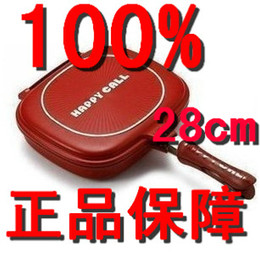 Wholesale Double Sided Grill - Wholesale 1pcs Happycall,Happy Call,Fry pan, Non-stick pan,Double Side Grill Fry Pan,Free Shipping
