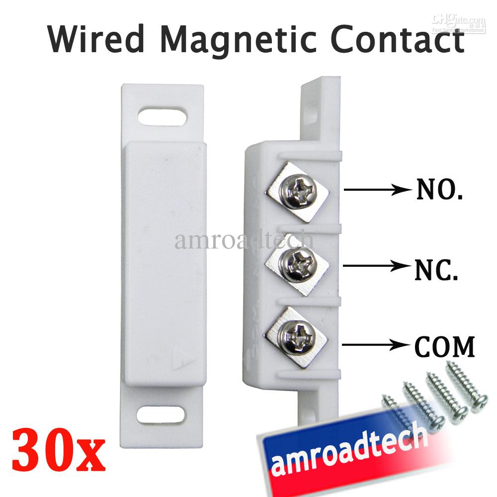 Magnetic Door Sensor Wire Wiring Diagrams Smps 24v Buy 24vpower Modulesmps Circuit Board Product 2018 30 X Wired Window Contact W N O C Rh Dhgate Com Wireless