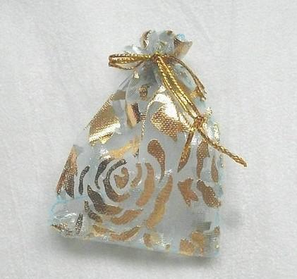 vente en gros mariage faveur organza pochette cadeau sac 7 * 5cm boîte à bijoux ly1