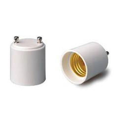 socket bulbs 2019 - GU24 to E27 E26 LED Light Lamp Bulb Adapter Holder Socket NEW 100pcs lot cheap socket bulbs