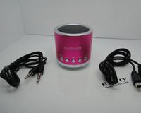Wholesale Loudspeaker Kaidaer - Cheap For Phone4 4S KAIDAER KD-MN01 Multimedia Speaker Music Micro SD Card Speaker Loudspeaker
