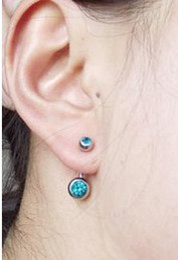 Rhinestone Spikes Studs NZ - wholesale Multicolor Crystal Belly Rings silver Body Jewelry Jewellery Body Piercing Spike belly rings navel ring stud earring ss1