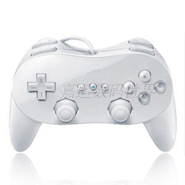 Chinese  1 Piece New Classic Pro Controller For Video Game Remote White manufacturers
