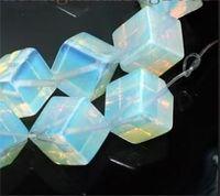 Wholesale Moonstone Square - Square 8x8mm Sri Lanka Moonstone Loose Beads 15inch