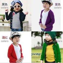 Wholesale Girls Baby Jacket Children Sweater - 5pcs lot Children woolen sweater, baby jacket coat, boys and girls Clothing coats, children's coat