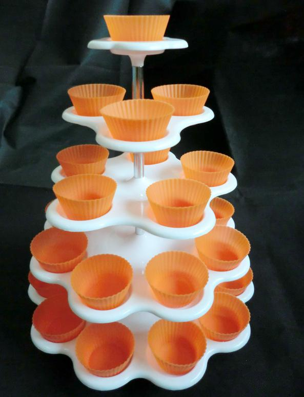 27 Count 5 Tier CUPCAKE DESSERT HOLDER STAND Cake Muffin Wedding Birthday Party Cup Cupcake From Cherry2008168 2959