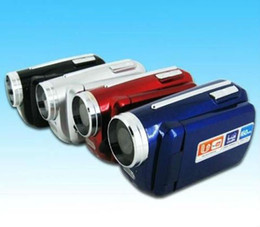 Wholesale Dv139 Digital Video Camera - 12MP 1.8 inch TFT LCD Digital Video Camera 4X Zoom 1.3MP With 2PCS LED Flash Light DV139